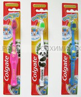Зубная щетка Колгейт для детей от 2 лет *12*72