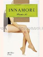 Иннаморе подследники Footie 30 miele (по 4-е пары)