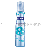 Нивея 86816 Мусс для волос Эффектный объем (термоуход) 150 мл. 6*24