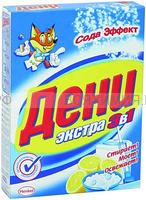ДЕНИ 400г Экстра 3в1 СОДА ЭФ стиральный порошок *24