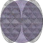 КИКИ Тени одноцветные 610 коричневый