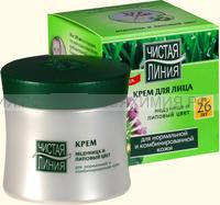 Чистая линия Крем от 26 лет для НОРМАЛЬНОЙ кожи (Васелёк, Барбарис) 45мл *5*15