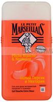 г/душ Le petit Marseiliais Белый персик и Нектарин 250 мл. 6*12