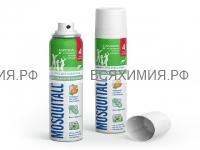 МОСКИТОЛЛ Аэрозоль Защита для взрослых от комаров 150 мл. *6