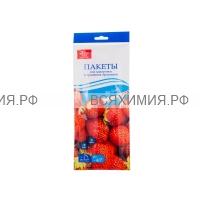 Пакеты Zip Lock для заморозки и хранения продуктов  3 литра 7 шт.  *10 (С)