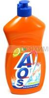 АОС средство для мытья посуды 500мл. ЛИМОН 10*20*