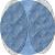 КИКИ Тени одноцветные 604 серо-синий