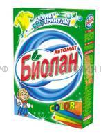 Биолан стиральный порошок автомат КОЛОР 350 г *24