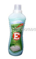 Кондиционер для ткани -Е- 1литр ТРОПИЧ. ЛЕС (зелёный) *6*12