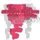 КИКИ Карандаш для губ кисточкой 08 розовато-лиловый