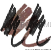 КИКИ Карандаш д/бровей с щеточкой 03 темно-коричневый