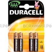 4-х штучная Батарейка Дюраселл AA (пальч.) mn 1500 *6*12