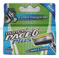 ДОРКО PACE6 PLUS (3+1) сменные кассеты с 6 лезвиями тример *6*6