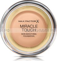 Max Factor Тональная Основа Miracle Touch 45 warm almond