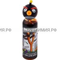 Angry Birds Гель для душа Естественная защита Черная птица 200 мл *3*24