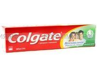 Зубная паста Колгейт Максимальная защита от кариеса Двойная мята 100мл.(зеленая) *12*48