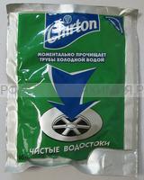 ЧИРТОН средство для прочистки сливных труб (порошок-гранулы) 60 гр. *12*48
