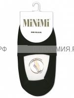 МИНИМИ подследники MINI VELOUR ( с ворсом и силик. укр.) 35-38 Nero (1 пара) *1*26*260*