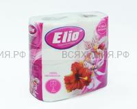 Туалетная бумага ELIO 2-х сл. белая (12)