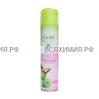 Освежитель ГОЛД МИНТ ЗЕЛЕНОЕ ЯБЛОКО (Green apple) 300 мл *12 / 288 / 1728
