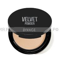 Divage Пудра Компактная Velvet 5201