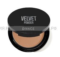 Divage Пудра Компактная Velvet 5202
