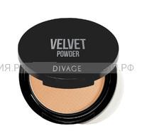 Divage Пудра Компактная Velvet 5204