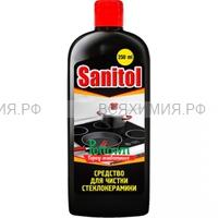ХБК Sanitol чистящее средство для стеклокерамики 250 мл. *8*16*