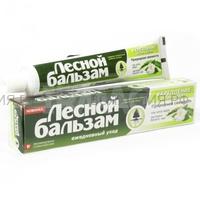 Лесной бальзам Зубная ПАСТА Алое и белый чай 75мл *12*48