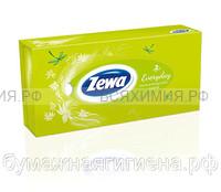 Косметические салфетки ZEWA Everyday 2-х слойные белые 100 листов *21