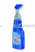ХЕЛП Средство для стекол КУРОК Свежий озон 750 мл 6 *12