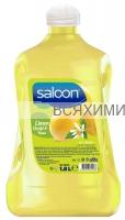 """Saloon Жидкое мыло """"Лимонный цветок и мята"""" 1,8л. *4*8*"""