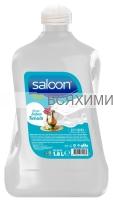 """Saloon Жидкое мыло """"С ароматом белого мыла"""" 1,8 л. *4*8*"""
