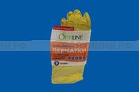 ОПТИЛАЙН перчатки резиновые S.