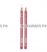 ЛюксВизаж Карандаш для губ 62 розово-сливовый