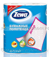 Полотенца Zewa Декор 2-х сл. 2 шт. *12
