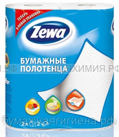 Полотенца Zewa 2-х сл. 2 шт. *12