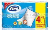 Полотенца Zewa 2-х сл. 4 шт. *4