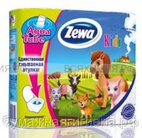 Туалетная бумага Zewa Deluxe Kids 3-х сл. 4 шт. *14 ДЕТСКАЯ
