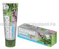 Зубная паста СПЛАТ БиоМед Биокомплекс (Травы) 100мл *5 *25