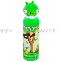 Angry Birds Гель для душа Свежесть дня (зелёная свинка) 6*