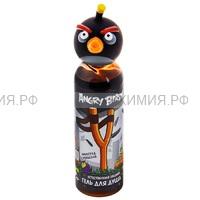 Angry Birds Гель для душа Естественная защита (чёрная птица) 6*