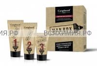 Набор Compliment Man BOX для чувствительной кожи КРАФТ(гель для бритья 50мл+гель после бритья 50мл+Средство от порез,25мл)*10