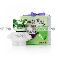 Sweety Kitty Туалетная Вода для ДЕТЕЙ Vikky 20мл *6*24 (зелен.)