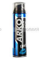 Арко Гель для бритья COOL (Освежающий) 200мл *6*24