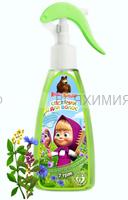 Маша и Медведь Спрей для легкого расчесывания волос 7 трав 150мл 6*24