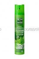Чистая Линия Лак для волос Экстрафиксация 200мл *8 *16