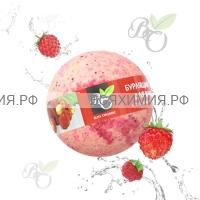 Bliss Organic Шар для ванны бурлящий Земляника 130 гр *6*60*