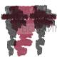 КИКИ Карандаш для губ кисточкой 04 темно бордовый