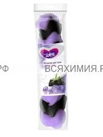 Fresh idea губка для тела КОСИЧКА (нейлоновая сетка с ручками) *25*50 (М)